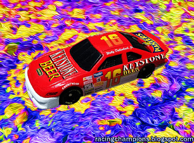 Wally Dallenbach #16 Keystone Beer Racing Champions 1/64 NASCAR diecast blog Roush Racing Planters Kate