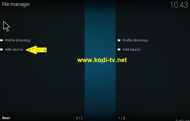 kodi addon file manager