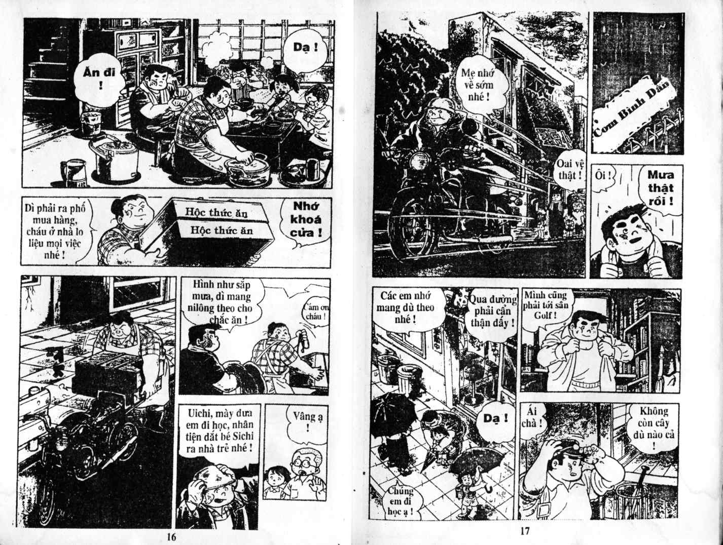 Ashita Tenki ni Naare chapter 1 trang 6