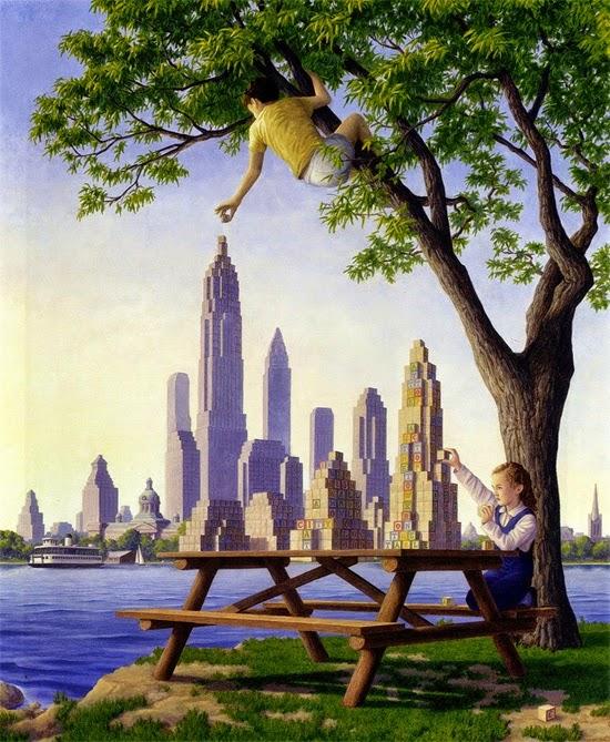 Ilusão de ótica - Montando Nova York