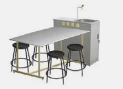 school furniture laboratory