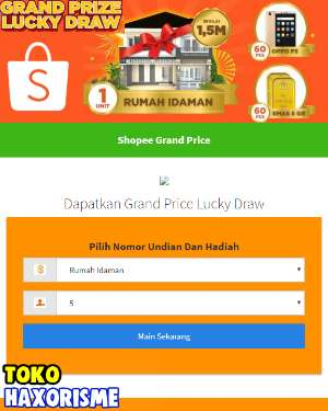 Web Phising Shopee Grand Price