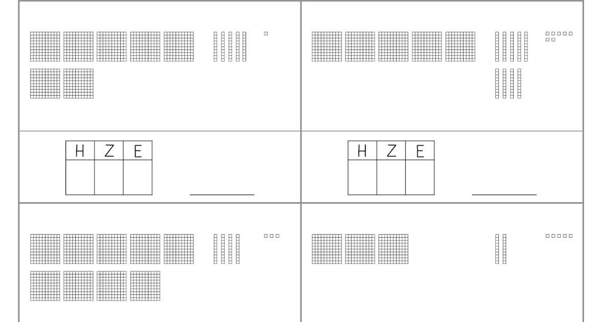lernst bchen zahldarstellung 1. Black Bedroom Furniture Sets. Home Design Ideas