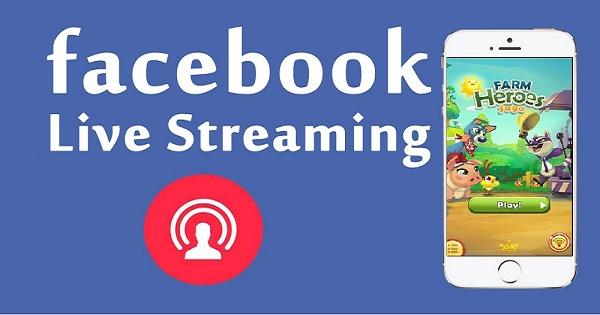 Hướng dẫn live stream màn hình điện thoại lên Facebook, Youtube, Twitch, Ustream
