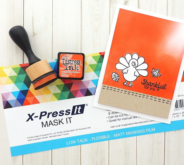 Sunny Studio Stamps: Harvest Happiness Turkey Card by Nicole Bergeson