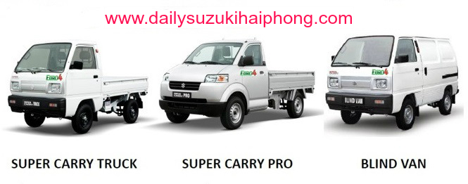 giá xe tải Suzuki Hải Phòng