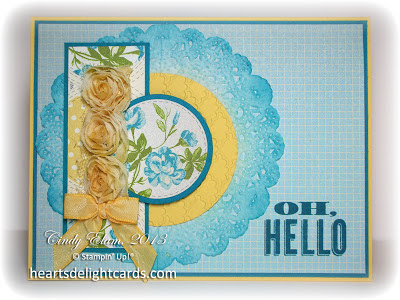Spring, Easter, Stampin' Up!, Card making, Paper crafting, Friendship