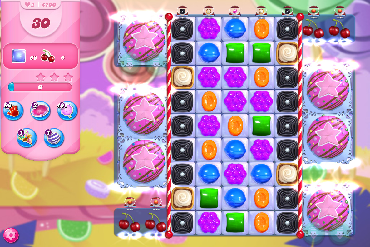 Candy Crush Saga level 4100