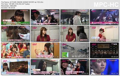 160206 AKB48 SHOW! Ep 102 Subtitle Indonesia