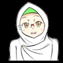 Nurul the Muslim girl