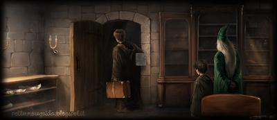 Harry Potter e il Prigioniero di Azkaban: L'ufficio del professor Lupin