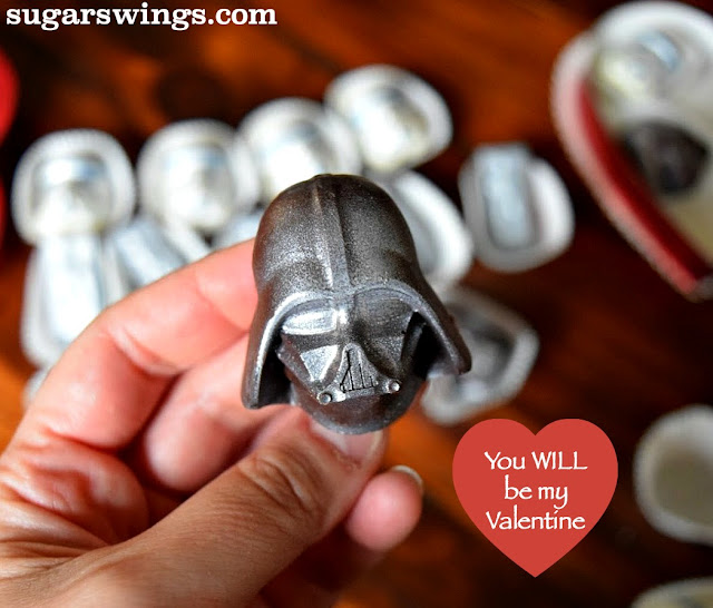 darth vader Valentine chocolate