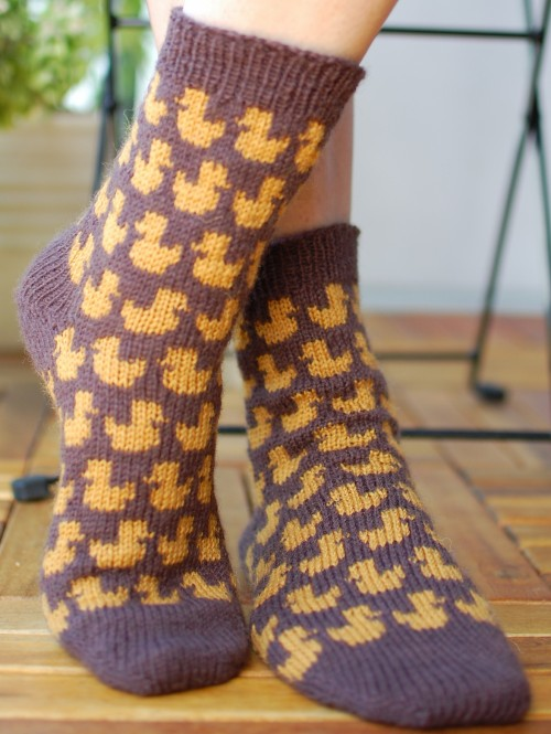 Rubberduck Socks - Free Pattern