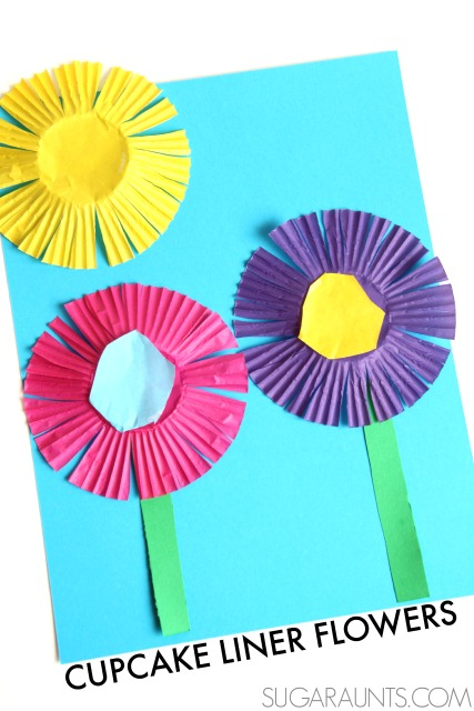 Flower scissor skills craft the ot toolbox spring flower craft mightylinksfo Choice Image