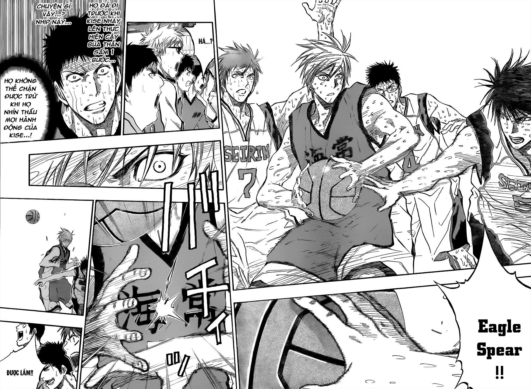 Kuroko No Basket chap 201 trang 14