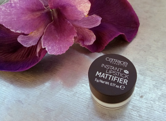 Catrice Instant lipstick mattifier 010 Matt is more review swatch
