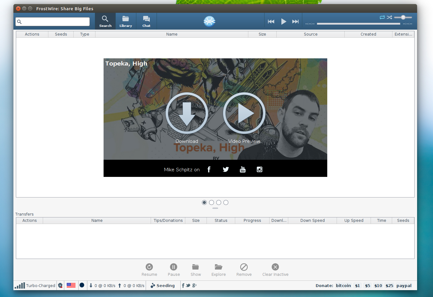 Download Torrents And YouTube Videos With FrostWire ~ Web
