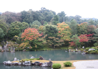 Kyoto garden in October