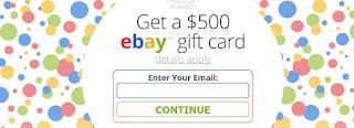 $500 eBay Gift Card