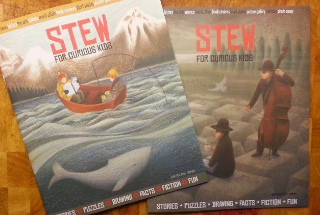 Stew magazine for curious kids aged 8-12 review