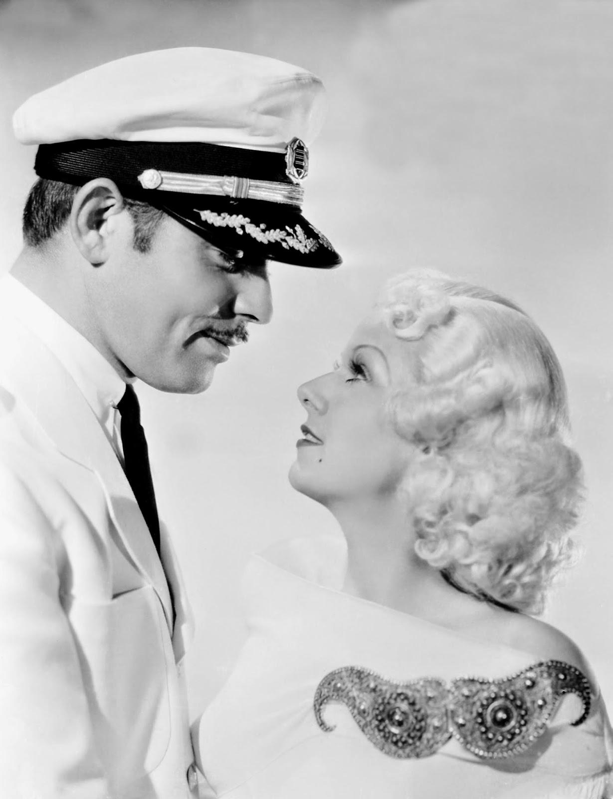 Back to Golden Days: Golden Couples: Clark Gable & Jean Harlow