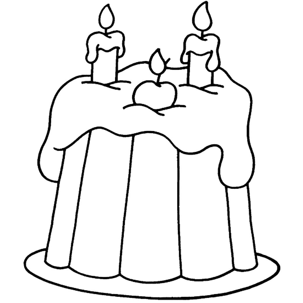 Gambar Mewarnai Untuk Anak 3 Tahun