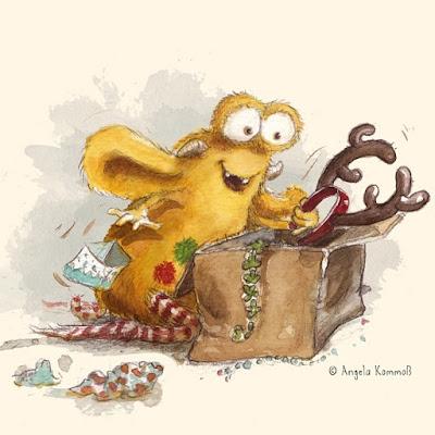 Pumpf, Kinderbuch, Glück, Resilienz, Loni lacht, Rentier