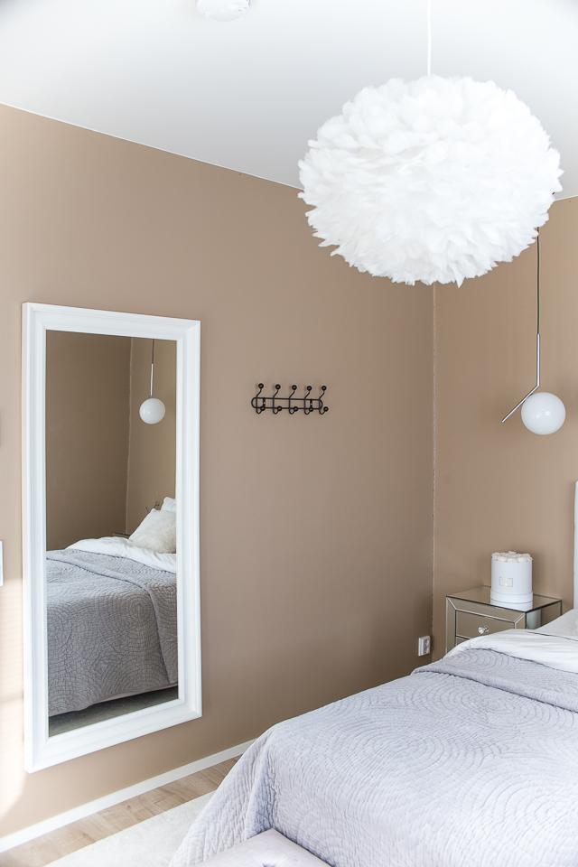 Villa H, sisustusblogi, makuuhuoneen sisustus, klassinen sisustus