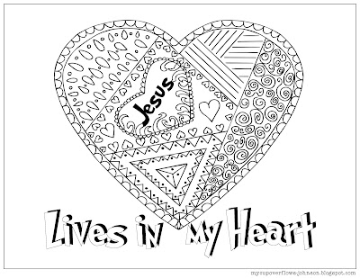 free Valentine Day coloring pages