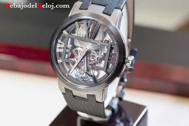 ULysse Nardin Executive Skeleton Tourbillon Titanium