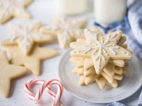 Vanilla Cutout Cookies that Don't Spread
