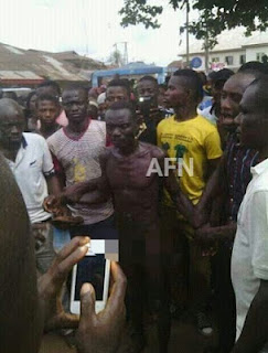 OMG!!! SEE THE WICKED 60YRS OLD MAN PARADED N@KED IN ABIA FOR R@PING AND KILLING VIRGIN (PHOTOS)