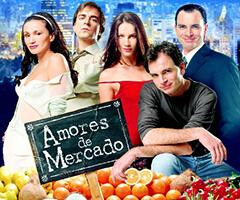 Telenovela Amores de mercado