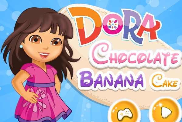 Dora Chocolate Banana Cake game