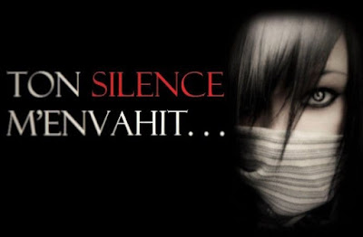 image illustrant une femme en silence.
