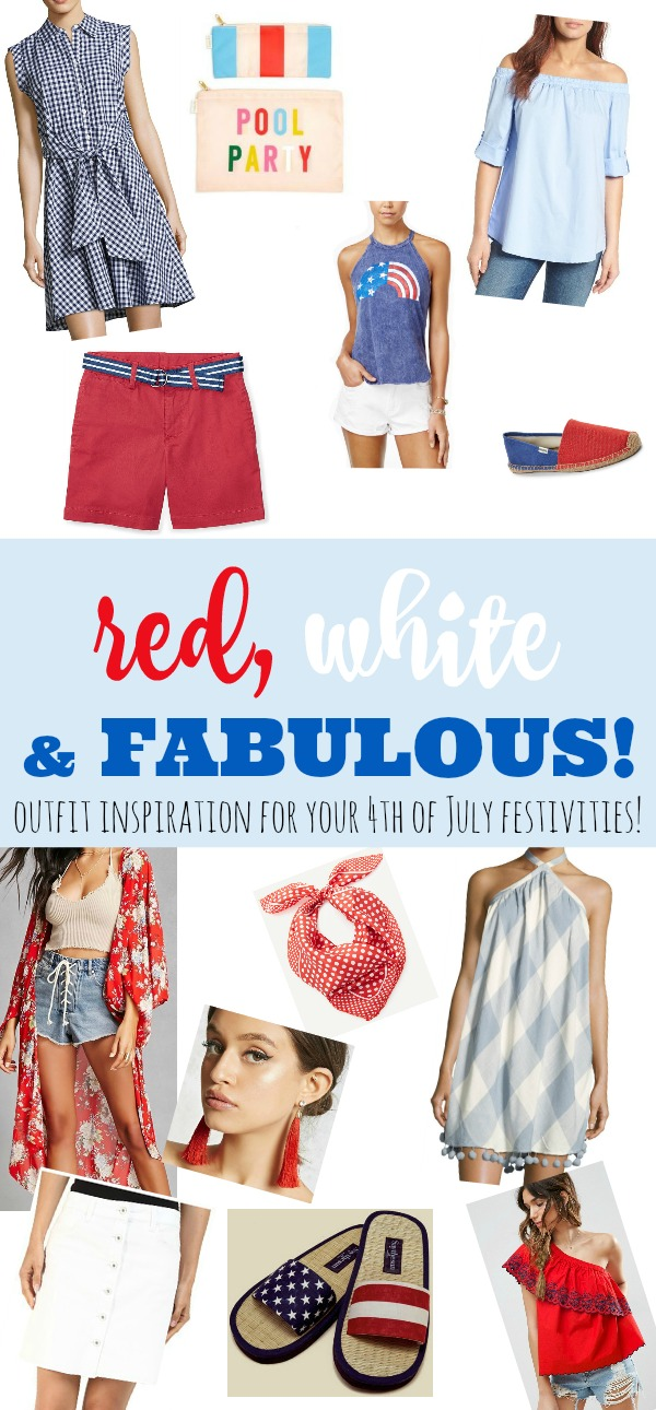 outfit inspiration for your 4th of July festivities!