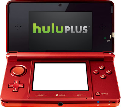 Hulu Plus Now on 3DS