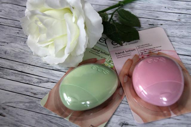 eos Handlotionen Testpaket mit Berry Blossom und Cucumber