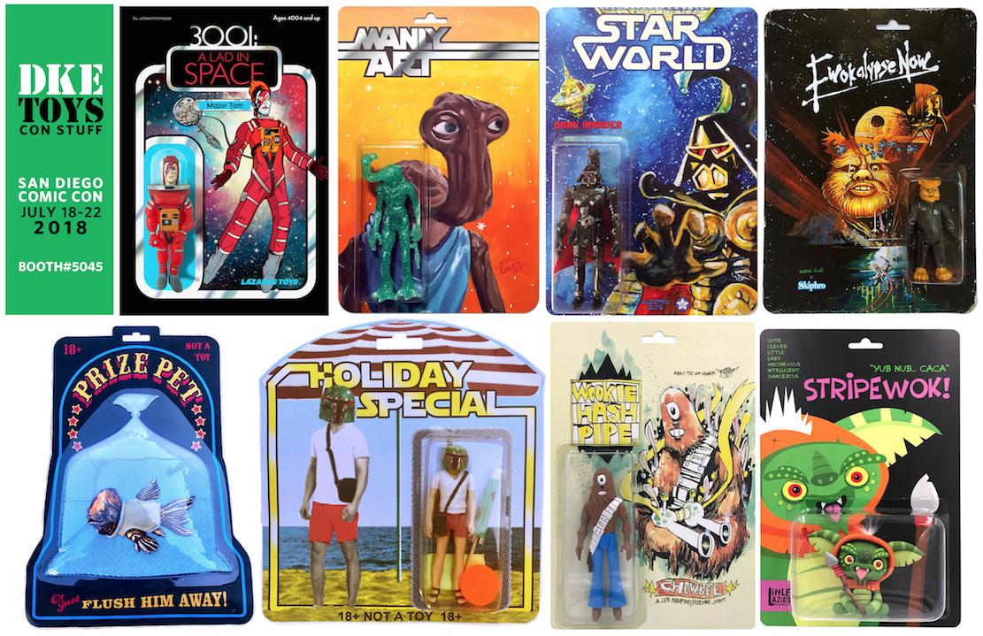 Star Wars-inspired Bootleg Resin Toy Releases from DKE Toys @ San
