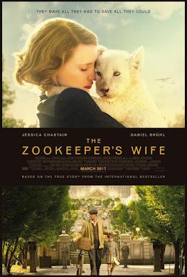 The Zookeeper's Wife 2017 DVD R1 NTSC Latino