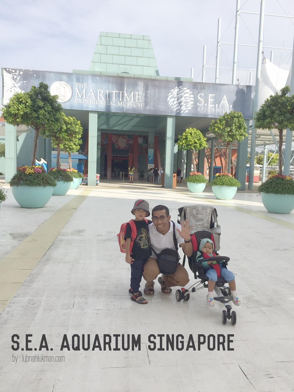 Sea Aquarium Singapore Jilid 2 Lubnah Lukman Paingngi Family Tiket