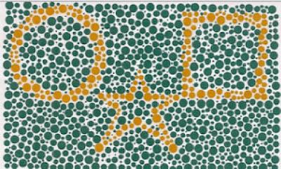pola gambar tes buta warna
