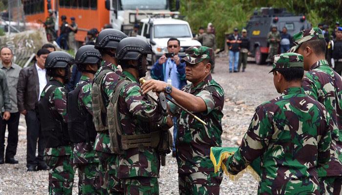 Warga Papua Sambut Dingin Heroisme TNI - Polri di Tembagapura