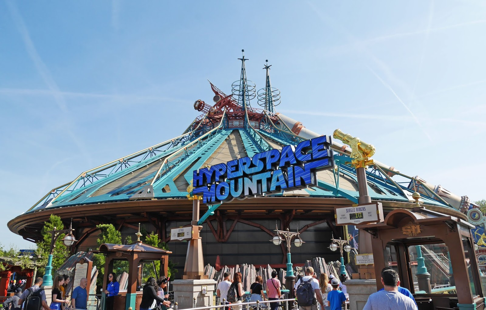 Hyperspace Mountain at Disneyland Paris