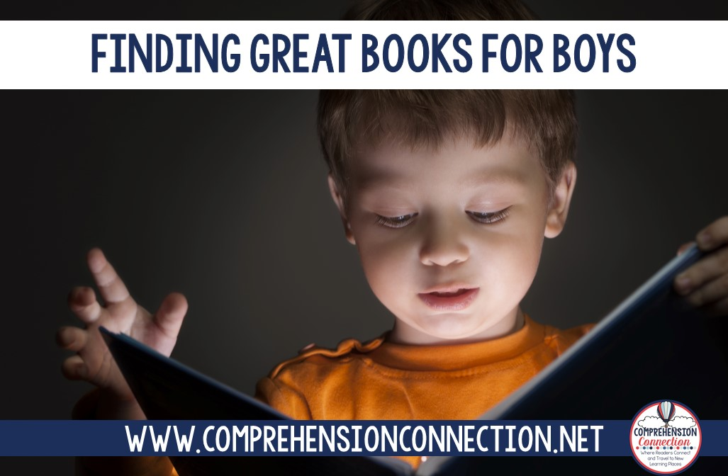 In upper elementary and middle school, we often lose our boy readers. What can we do to keep them interested? This post includes book recommendations you might try and links to websites for other recommendations too. Check it out if you're needing support.