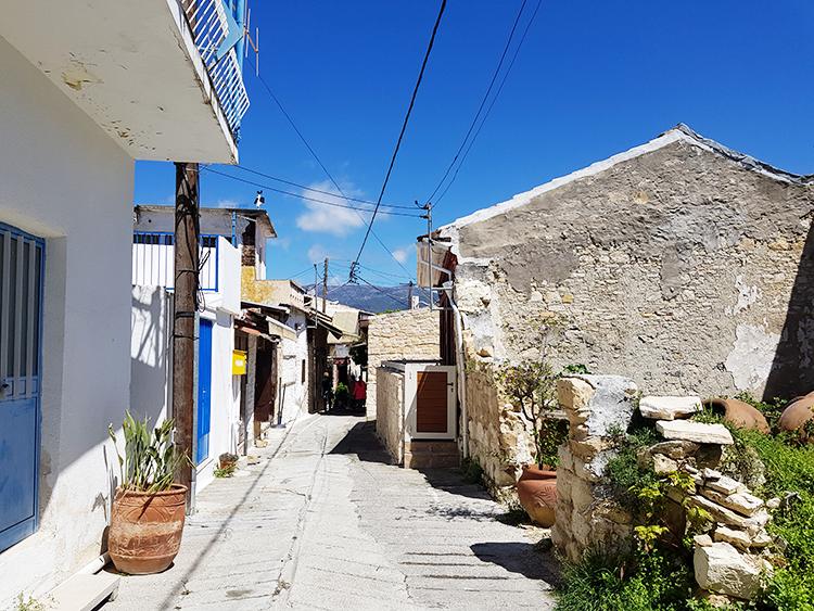 Rue à Omodos