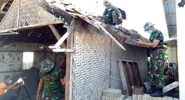 TNI AD Mulai Renovasi Rumah Zohri, Juara Dunia Lari Cepat