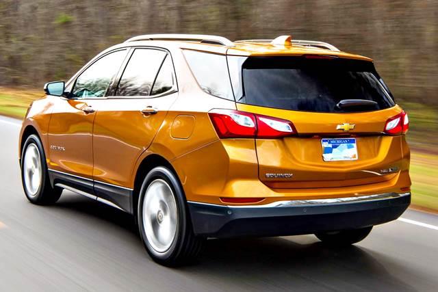 Chevrolet Equinox Turbo 2018: características y especificaciones técnicas