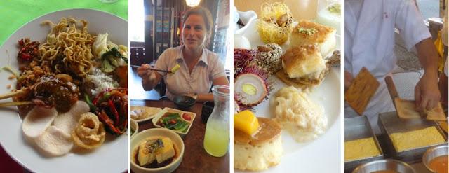 Collage Asiatisches Essen