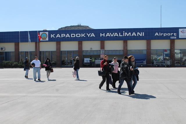kapadokya havalimanı yolcu
